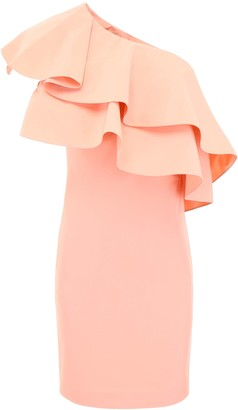 Lanvin Ruffled One-shoulder Dress