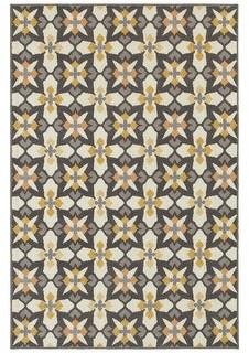 StyleHaven Hammock Floral Panel Indoor-Outdoor Area Rug