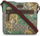 Gucci Tiger Club Leather Shoulder Bag