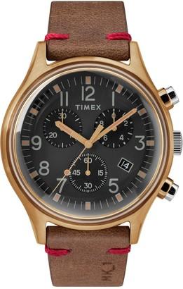 Timex Men's MK1 Steel SST Chronograph Quartz Watch, 42mm