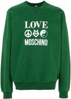 Love Moschino sweatshirt - men - Cotton/Spandex/Elastane - S