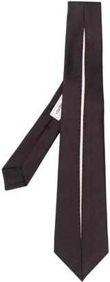 Alexander McQueen Striped Silk Tie