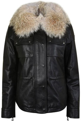 Belstaff Ocelot Hand Waxed Leather Jacket