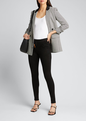 Frame Le Skinny De Jeanne Corded Lace-Up Jeans