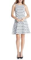 Karen Kane Women's Jacquard Fit & Flare Dress