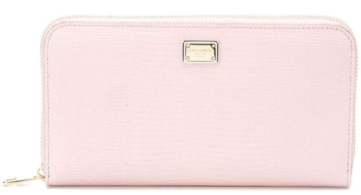 Dolce & Gabbana Dauphine zip-around wallet