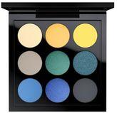 M·A·C MAC Tropic Cool Eye Shadow Palette X 9 ($53 Value)