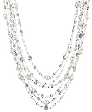 Ralph Lauren Multi Row Collar Necklace, 16