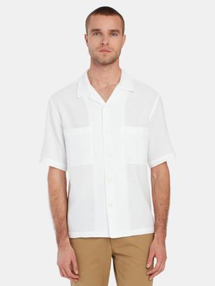 Barena Camicia Solana Short Sleeve Button Up Shirt