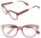 Derek Lam Women's 50Mm Optical Glasses - Dark Pink
