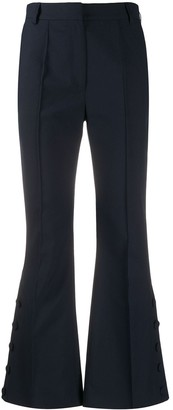 Rokh High Rise Cropped Trousers