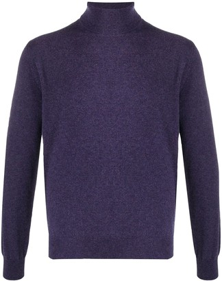 Corneliani Roll-Neck Cashmere Jumper
