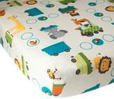 Bedtime Originals Lambs & Ivy Choo Choo Fitted Crib Sheet