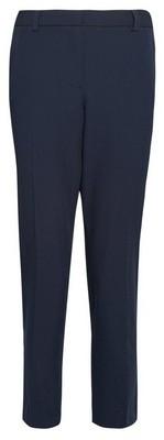 Dorothy Perkins Womens Navy Elastic Ankle Grazer Trousers