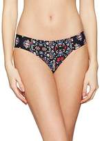 Ella Moss Women's The Wanderer Reversible Retro Pant Bikini Bottoms