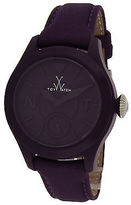 Toy Watch ToyWatch TTF04AM Women's Toy To Fly Purple Satin and Dial