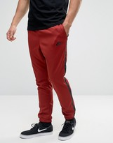 Nike Tribute Joggers In Red 678637-674