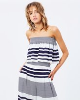 Finders Keepers Mason Strapless Crop Top