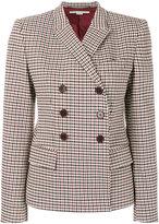 Stella McCartney Prince of Wales checked blazer