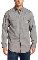 Carhartt Men's Big & Tall Flame Resistant Classic Twill Shirt