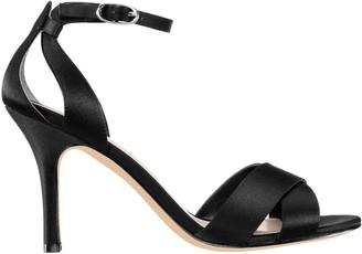 Nina Footwear Satin Criss Cross Vamp Sandals -Venus