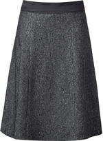 Narciso Rodriguez Anthracite A-Line Skirt