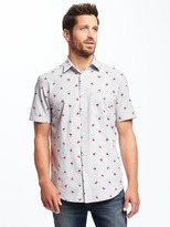 Old Navy Classic Regular-Fit Shirt For Men