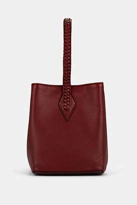 Métier London Women's Perriand Mini Leather Bucket Bag - Dark Red