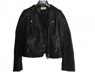Eleven Paris Black Leather Jacket for Women