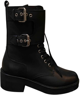 The Kooples FW18 Black Leather Boots