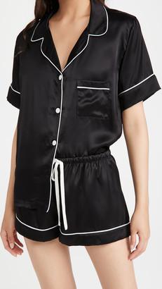 fivekisses Silk Shorts PJ Set