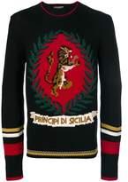 Dolce & Gabbana Dolce E Gabbana Men's Black Wool Sweatshirt.
