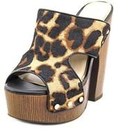 Jessica Simpson Wynne2 Open Toe Leather Platform Sandal.