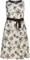 Marina Rinaldi Floral Linen Dress