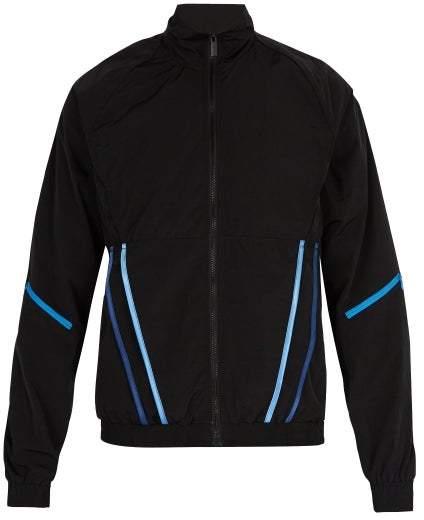Cottweiler Signature 3.0 Contrast Trim Shell Track Jacket - Mens - Black
