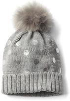 Gap Dotty pom-pom hat