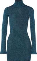 By Malene Birger Errandi metallic ribbed-knit turtleneck sweater