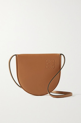 Loewe Heel Small Leather Shoulder Bag - Tan