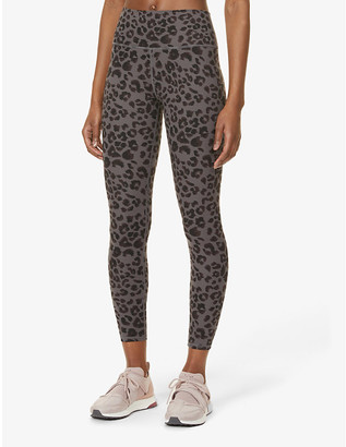 Varley Century 2.0 graphic-pattern stretch-woven leggings