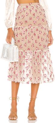 Majorelle Yosemite Midi Skirt
