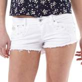 Superdry Womens Folkloric Low Rise Denim Hot Pants Gypsy Rose Optic