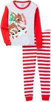 Candlesticks Rudolph Ready Santa! Cotton Pajamas (Toddler Boys)