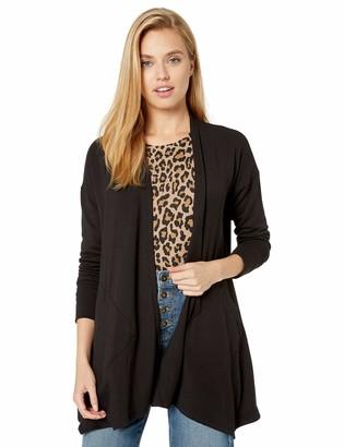 Kensie Women's Drapey Fleece Jacket