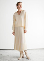 Thumbnail for your product : And other stories Rib Knit Midi Skirt