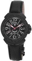 Lancaster Women's OLA0351L/NR/NR New Pillola Diamond Black Dial Leather Watch