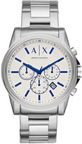 Armani Exchange A|X Men's Chronograph Stainless Steel Bracelet Watch 44mm AX2510