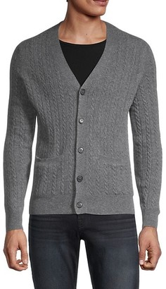 Saks Fifth Avenue Cable-Knit Cashmere Cardigan