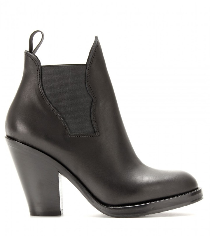 Acne Studios Star leather ankle boots