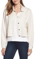 Eileen Fisher Women's Crop Twill Jacket
