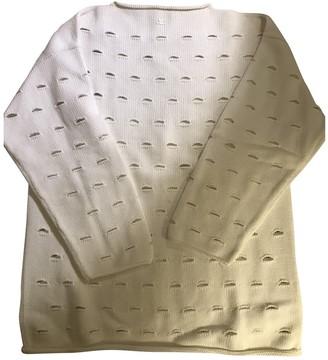 Courreges White Cotton Top for Women